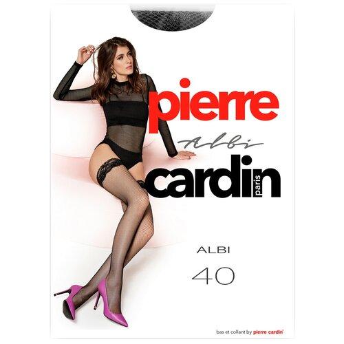 Чулки Pierre Cardin Albi, 40 den, размер IV-L, nero (черный)