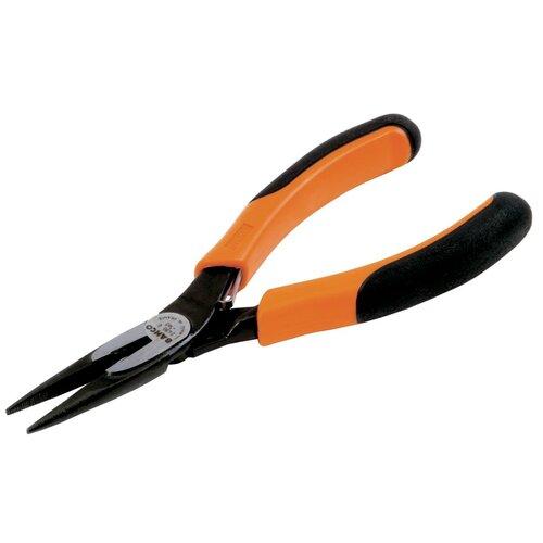 Длинногубцы BAHCO 2430 G-140 140 мм длинногубцы bahco оранжево черные пластиковые ручки 140 мм