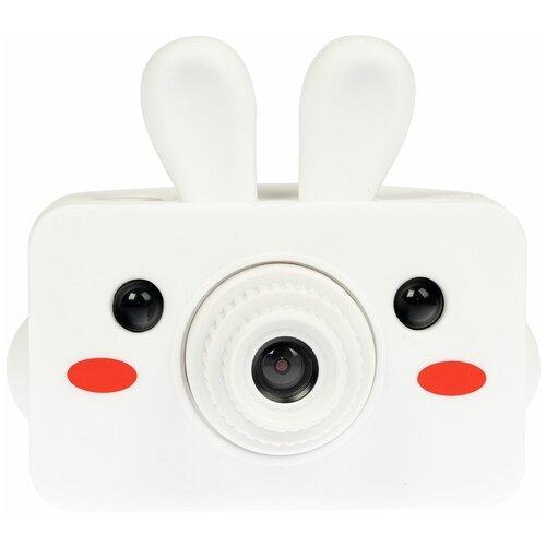 Фото - Фотоаппарат BONDIBON Заяц ВВ4861 белый trousselier погремушка кольцо заяц 12см trousselier