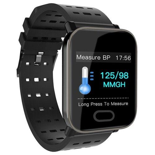 детские умные часы zdk q360 голубой Умные часы ZDK A6 Black