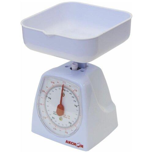 Кухонные весы Аксион ВКМ-21 серебристый