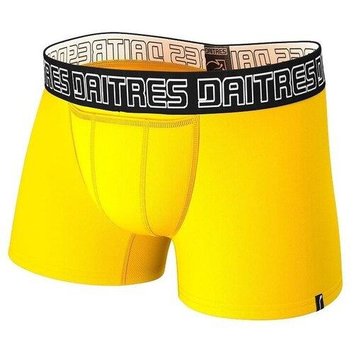 Daitres Трусы боксеры удлиненные с профилированным гульфиком, размер 4XL/60, желтый