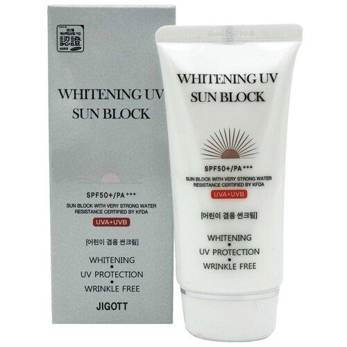 Солнцезащитный крем для лица Джигот - JIGOTT WHITENINGUV SUN BLOCK CREAM