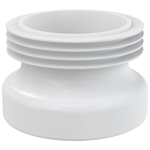 Манжета прямая для унитаза AlcaPLAST A99 белый недорого