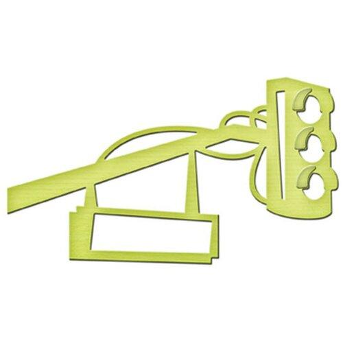 Нож для вырубки Spellbinders Светофор (IN-007) зеленый