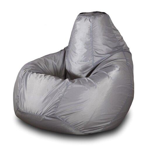 Фото - Пазитифчик кресло-груша однотонная 01 серый оксфорд пазитифчик кресло груша однотонная 01 хаки оксфорд
