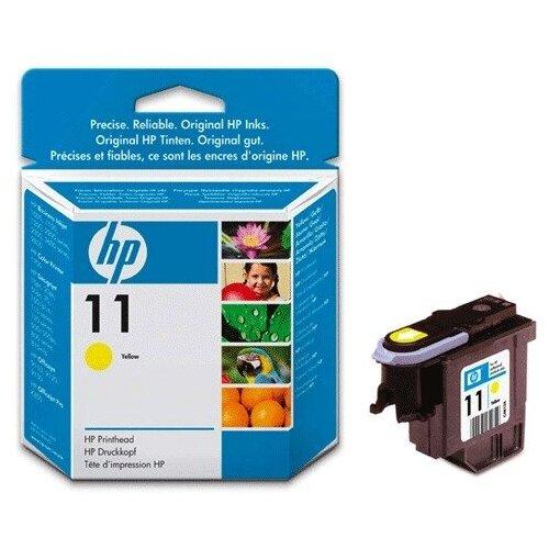 Головка печатающая для плоттера HP (C4813A) Designjet 510/CC800PS/ 800/500 и др. №11 желтая 1 шт.