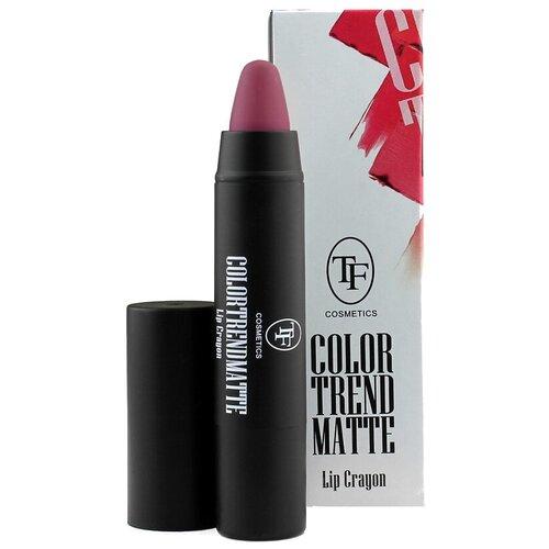 Купить TF Cosmetics помада-карандаш для губ Color Trend Matte матовая, оттенок 207