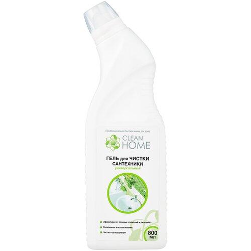 Фото - Clean Home гель для чистки сантехники универсальный, 0.8 л clean hoантибактериальный гель для рукme