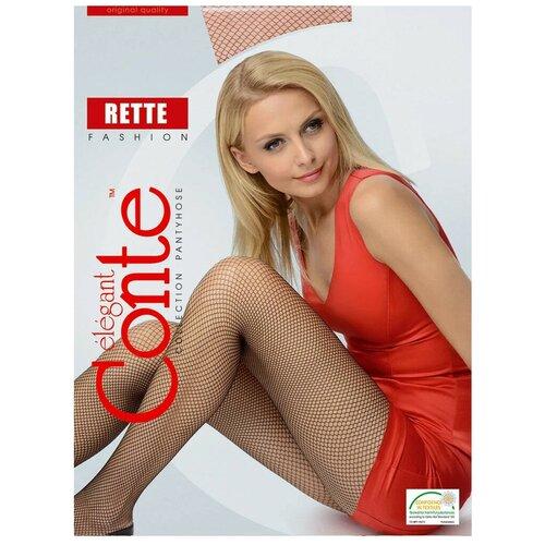Колготки Conte Elegant Rette Micro, размер 4, bronz (бежевый)
