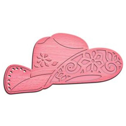 Нож для вырубки Spellbinders Ковбойский стиль (IN-052) розовый