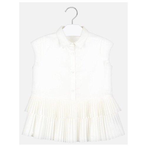 Блузка Mayoral размер 162, бежевый