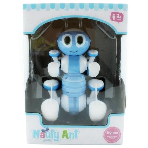 Купить Робот-трансформер BRAINPOWER Nauty ant робот-муравей синий, Роботы и трансформеры