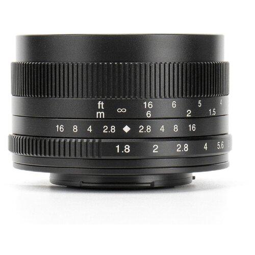 Фото - Объектив 7artisans 50mm f/1.8 Canon EF-M черный объектив 7artisans 18mm f6 3 canon eos m mount
