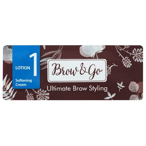 Brow&Go Состав для стайлинга бровей №1 Softening Cream smashbox brow tech to go