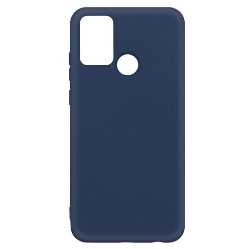 Krutoff / Чехол-накладка Krutoff Silicone Case для Honor 9A синий