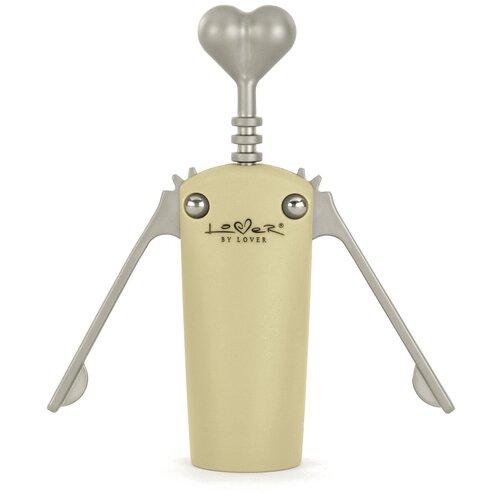 Штопор BergHOFF двухрычажный Lover by Lover, бежевый штопор berghoff straight 1105369 металл