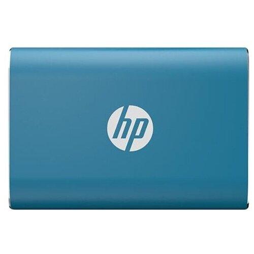 Фото - Внешний SSD HP P500 500GB (7PD54AA) 500 GB, синий портативный ssd hp p500 1tb usb 3 1 g2 type c син 1f5p6aaabb
