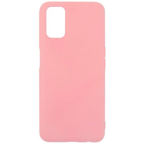 Чехол для Oppo A52/Oppo A72/Oppo A92, силиконовая накладка, розовый