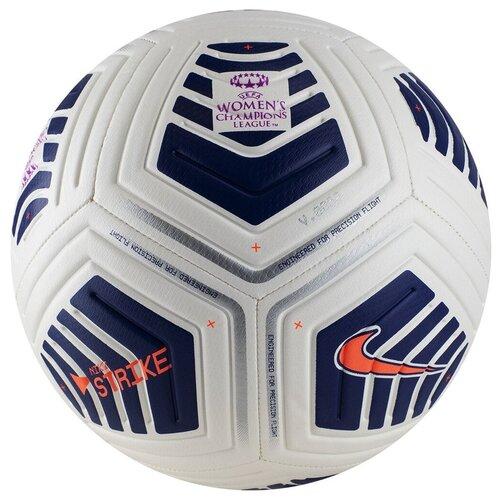 Футбольный мяч NIKE UEFA Women's Champions League Strike белый 5 недорого