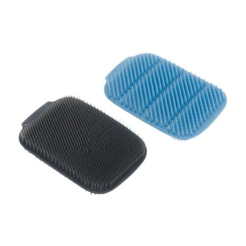 Набор малых щеток для мытья посуды Joseph Joseph CleanTech, 2 шт, синий/серый joseph joseph набор мельниц для соли и перца milltop 95036 серый