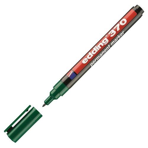 Фото - Маркер перманентный EDDING E-370 зеленый 1мм круглый наконечник 2 штуки маркер перманентный edding зеленый 3 4 мм круглый наконечник