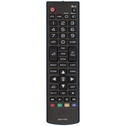 Пульт Huayu AKB73715603 для телевизоров LG 32LN536U/32LN540V/39LN540V/42PN450D/42LN541V и другие