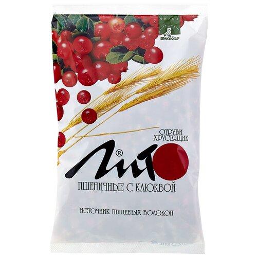 Отруби Лито пшеничные хрустящие сладкие с кальцием и клюквой, 200 г отруби сибирские пшеничные с черникой 200 г