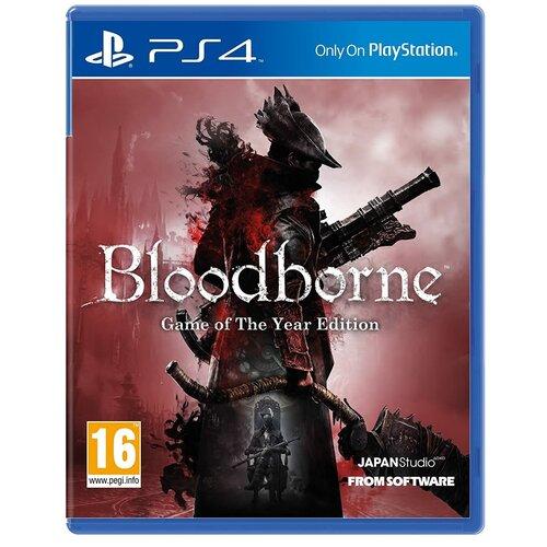 Игра для PlayStation 4 Bloodborne: Game of the Year Edition русские субтитры