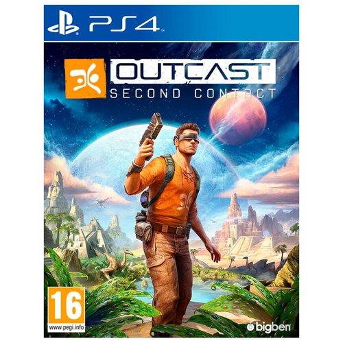 Игра для PlayStation 4 Outcast: Second Contact, английский язык