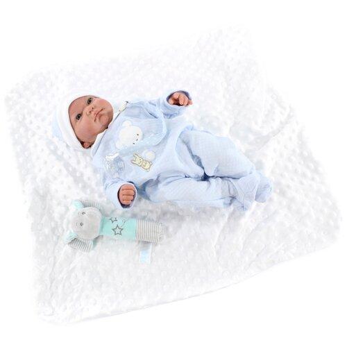 Кукла Antonio Juan Реборн Виктория в голубом, 40 см, 8123B