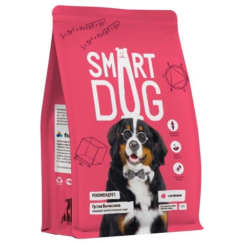 Сухой корм для собак Smart Dog ягненок 800 г (для крупных пород)