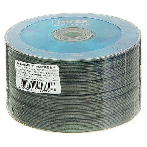 Диск CD-R Mirex Standard 48x 700 Мб спайка 50 шт 1716291