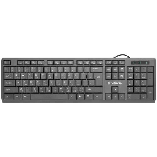 Клавиатура Defender OfficeMate SM-820 Black USB