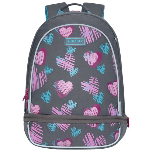 Купить Grizzly Рюкзак школьный RG-169-2/1, Рюкзаки, ранцы