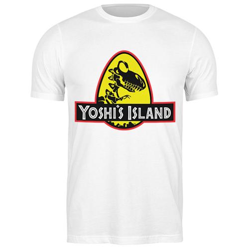 Футболка классическая Yoshi (Mario) #1928984 (цвет: БЕЛЫЙ, пол: МУЖ, качество: ЭКОНОМ, размер: L) футболка классическая printio yoshi mario