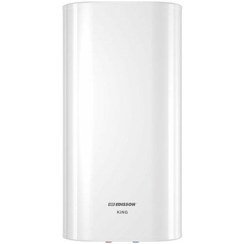 Накопительный электрический водонагреватель Edisson King 80 V, белый