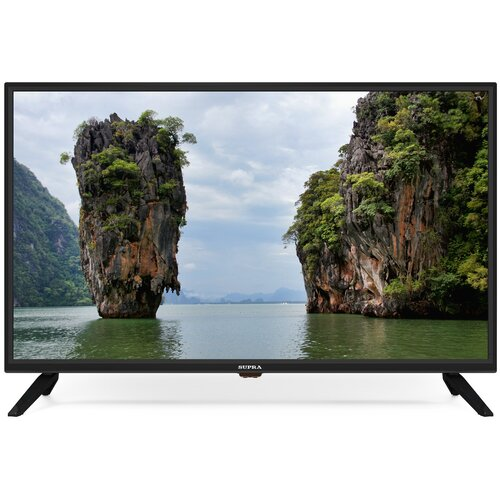 Фото - Телевизор SUPRA STV-LC32LT0070W 32, черный телевизор haier le24k6000s 23 6