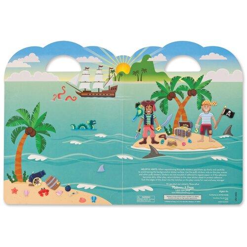 Купить Творчество Набор стикеров-пираты Melissa Doug 9102, Melissa & Doug, Наклейки