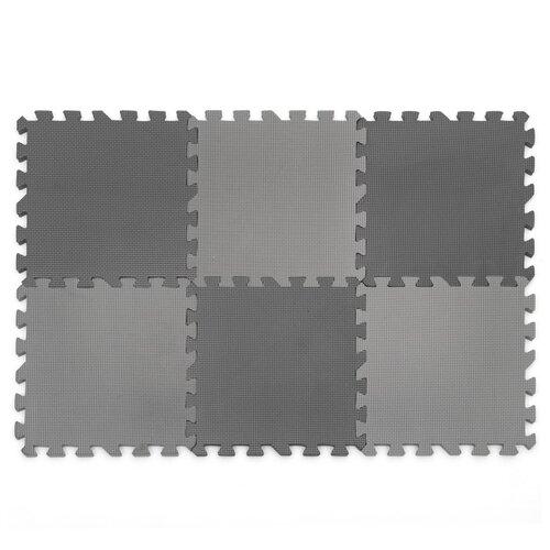 Купить Коврик-пазл Funkids Симпл-12-10, толщ. 10 мм (KB-049-6-NT10), Игровые коврики