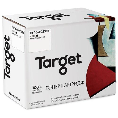 Фото - Тонер-картридж Target 106R02304, черный, для лазерного принтера, совместимый тонер картридж target 051h черный для лазерного принтера совместимый