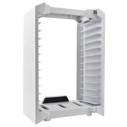 Dobe Подставка Multifunctional Storage Stand Kit для консоли Xbox One S (TYX-025S) белый