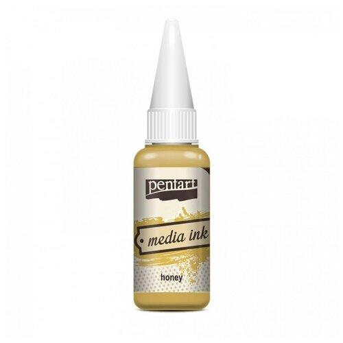 Купить Алкогольные чернила мёд (Honey) 20 мл, Pentart, Краски