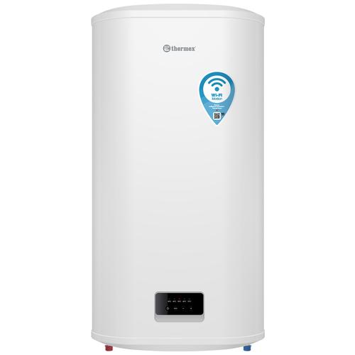 Накопительный электрический водонагреватель Thermex Optima 100 Wi-Fi, белый электрический накопительный водонагреватель thermex thermex optima 30 wi fi