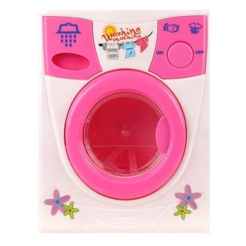 Купить Стиральная машина Наша игрушка Beauty washer 2027 белый/розовый, Детские кухни и бытовая техника