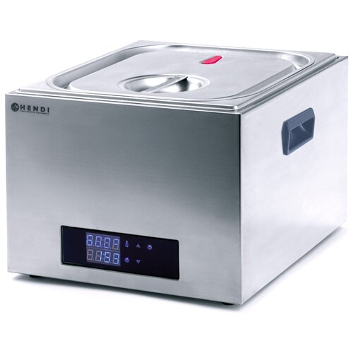 Профессиональная водяная печь HENDI Sous vide объем 13 литров GN 2/3 225264