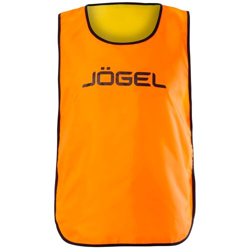 Манишка Jogel размер YM, оранжевый/лаймовый