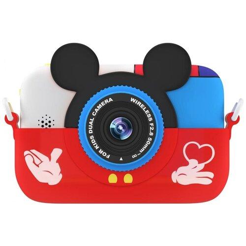 Фото - Фотоаппарат GSMIN Fun Camera Memory с играми красный фотоаппарат gsmin fun camera rabbit со встроенной памятью и играми голубой