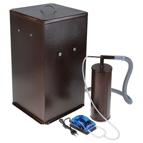 Коптильня холодного копчения Дым Дымыч 01Б, дымогенератор, 50 л, коричневая 1333763 квин л горький дым костров