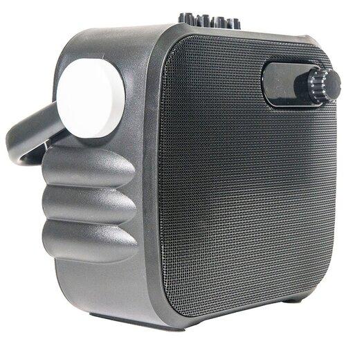 Фото - Bluetooth-колонка с сабвуфером и функцией караоке Atom Evolution KS-1500 караоке микрофон atom evolution km 1100l